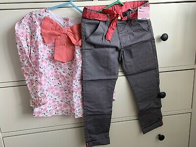 Mothercare Girls Top And Trousers Outfit ** New With Tags **