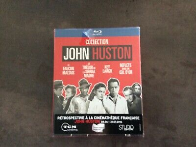 Coffret Blu-Ray Collection John Huston.4 Films Cultes!!Neuf Blister.