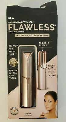 Finishing Touch Flawless Women's  Facial Hair Remover, BOX TAPED/PICTURE VARY