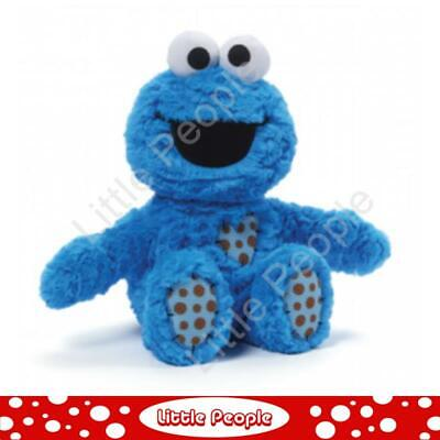 Sesame Street -Cookie Monster Patch Plush 20cm  NEW BABY