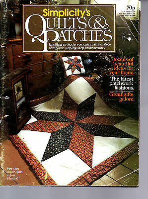 Simplicity Quilts & Patches magazine