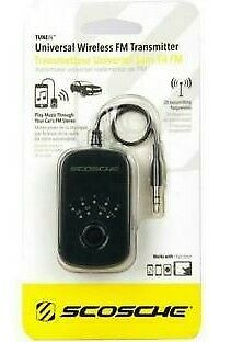 Scosche In Car Stereo Universal Wireless FM Transmitter For iPod MP3 Player