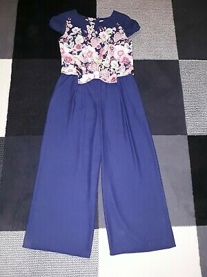 Girls Ted baker Jumpsuit culotte Age 11 years
