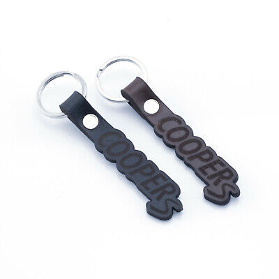 Lot Of 2 MINI Cooper Metal /& Leather Keychains /& Pen Set New In Box