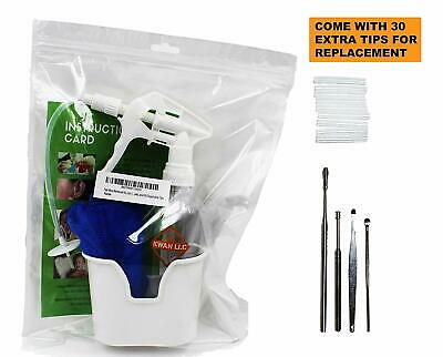 Ear Wax Removal Kit | Irrigation, Cleaning, Flushing Tool for Adults & Kids
