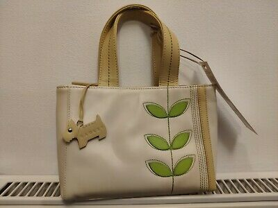 Radley Small Handbag Brand New With Tags Ivory White Cream