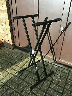 Tiger Double Braced X Keyboard Stand