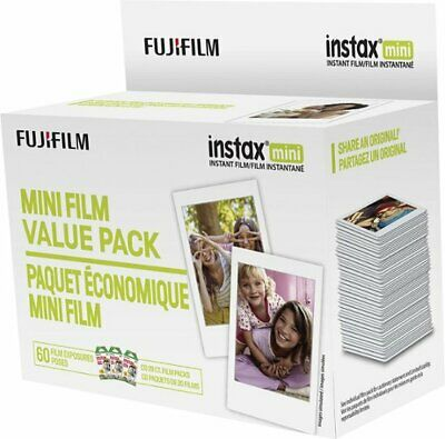 Fujifilm Instax Mini Film Value Pack 60 Sheets - Multicolor (600018206)