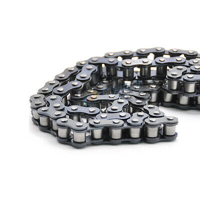 """25 Roller Chain Single Strand Pitch 6.35mm 14"""" 04C Roller Chain 25H-79L x0.5M"""