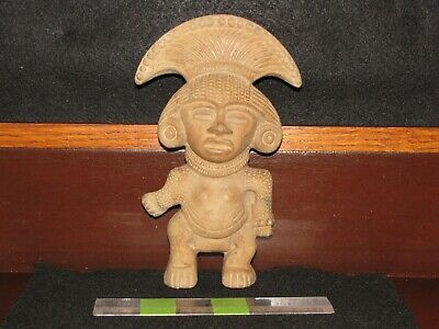 Pre Columbian, Pottery, Teotihuacan, Large Choice Standing Figure, E/L/C+300 900