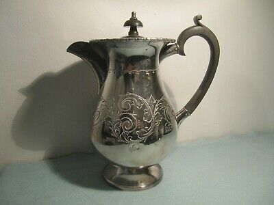 Cooper Bros Silver Plated EP Hot Water Jug