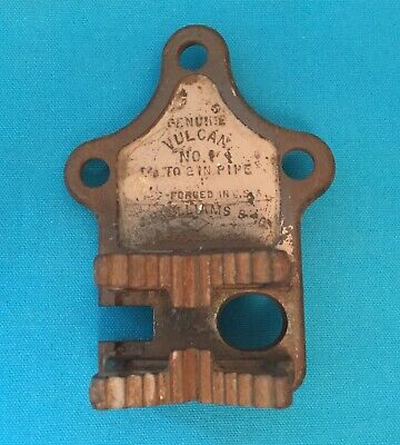 """Vulcan No.1 Pipe Chain Clamp Vise , 1/8"""" To 2"""" Pipe -Jh Williams  *Not Complete*"""