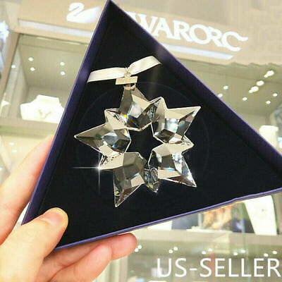 Swarovski Crystal 2019 Annual Edition Ornament 5427990 Snowflake Christmas Gift