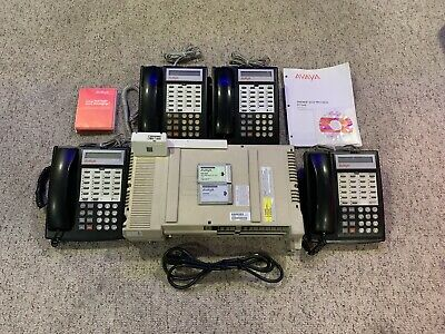 Avaya Partner ACS R6 Business Phone System w/ 308ec & 4 18D business telephones