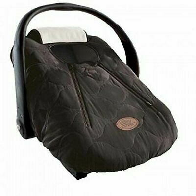 Cozy Cover Infant Carrier Cover -Baby Car Seat Cover - Black Weather Protection