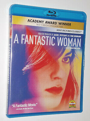 A FANTASTIC WOMAN : Blu-ray in perfect condition  usa/can