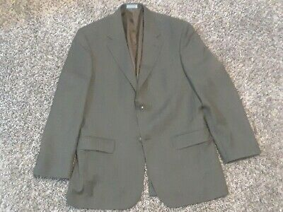Geoffrey Beene Men's Beige WOOL BLEND Blazer Sport Coat Suit Jacket 40R $315