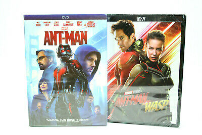 Ant Man 1 and  Ant Man and the Wasp DVD Marvel Movie New sealed Free Shipping!