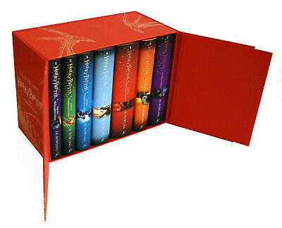 Harry Potter Box Set: The Complete Collection Children's Hardback J.K. Rowling