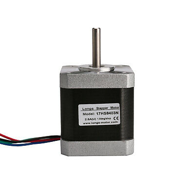 1PC Nema17 stepper motor 17HS8403N 2.5A 48mm 4800g.cm 3D Printer CNC Router Kit
