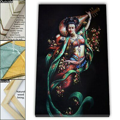 "16""x24"" Abstract buddha god HD Canvas print Framed Home Decor Painting Wall art"