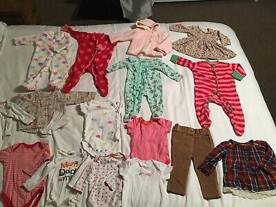 Job Lot Baby Girl Clothes 3-6 Months Ted Baker M&S Next H&M All VGC 17 Items