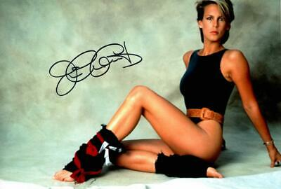 """Jamie Lee Curtis Autographed 12x8"""" photo with C.O.A"""