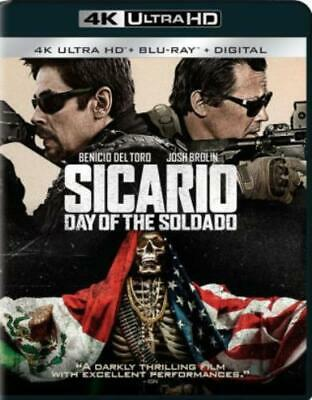 SICARIO: DAY OF THE SOLDADO (4K ULTRA HD (BLU RAY) Region free.)