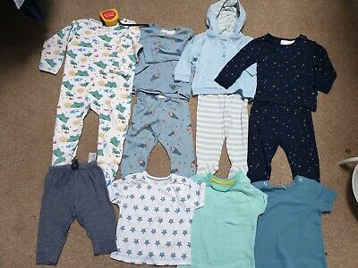 Baby Boy Bundle 3-6 Months H&M, GAP, Mothercare, t shirts, outfits, sleepsuit