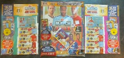 Topps Match Attax trading card game season 2019 20. LIMITED EDITION MULTI packs