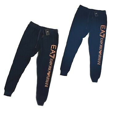Emporio Armani Men's Cotton Joggers/Shorts With Maxi Logo ---- Xmas Offer