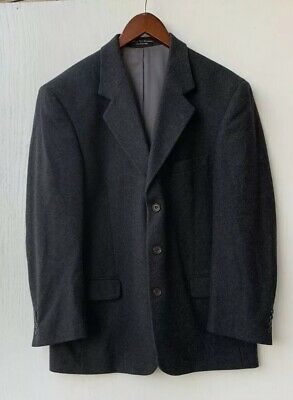Gianfranco Ruffini Cashmere Blend Men's Gray Blazer 42R Italy