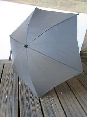 Sun Parasol for Petite Star Zia Pushchair / buggy Black
