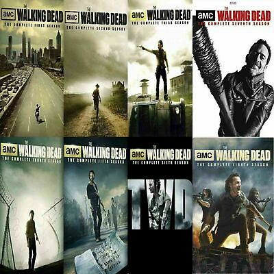 The Walking Dead Complete Seasons 1-8 FREE Shipping