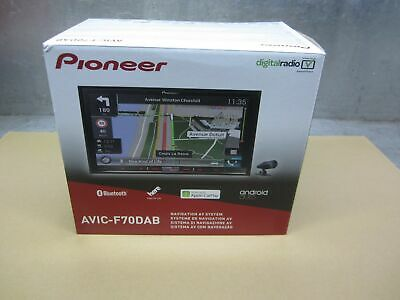 Pioneer AVIC-F70 DAB Navigation Navi Multimedia Entertainment komplett NEU/OVP
