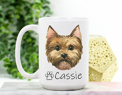 """Yorkie /""""for Dog Lovers Only/"""" Mouse Pad and Mug Combo Set bl Yorkshire Terrier"""