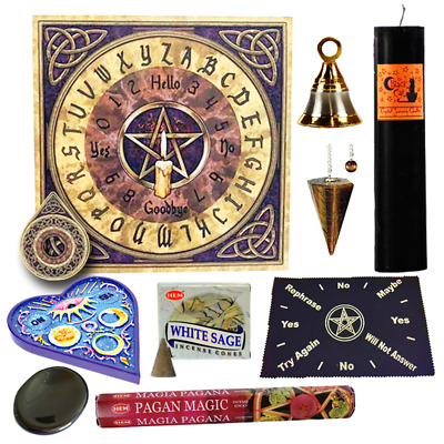 Ouija Board | Pendulum | Divination Kit | Samhain Kit | Pagan Incense