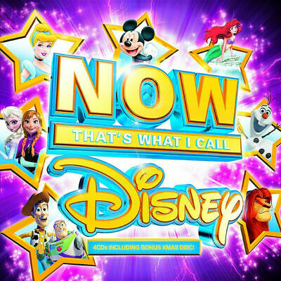 Now That's What I Call Disney - 4 Music CDs - 89 Songs - New & Sealed
