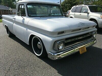 1965 Chevrolet C-10 Custom C10 Short Bed Big Rear Window Corvette 350 CI 700 R4 Frame Off No Reserve
