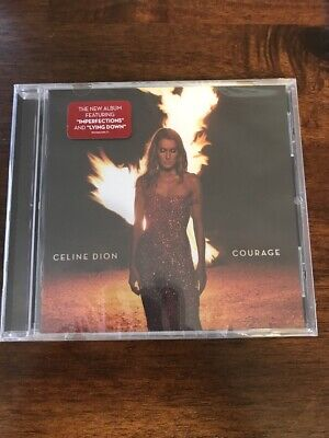 Celine Dion Courage CD Brand New