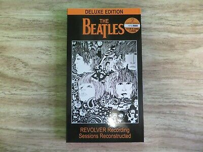 The Beatles - Revolver Recording Sessions Reconstructed 3cd + 1dvd box set