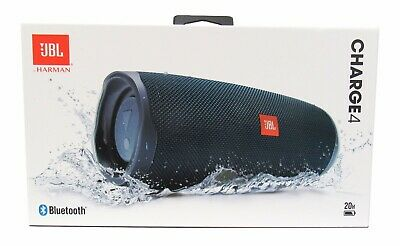JBL Charge 4 Portable Waterproof Wireless Bluetooth Speaker - Blue *CHARGE4BLU