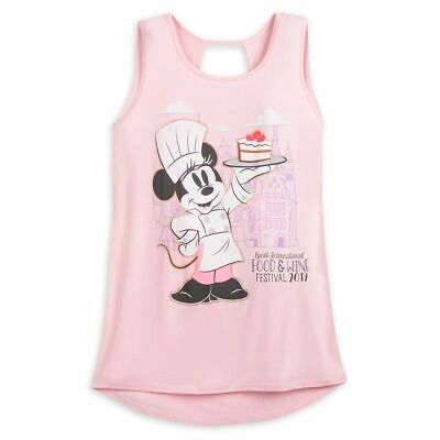 Disney Parks EPCOT Food & Wine Festival Chef Minnie Tank Top (Sz: Plus 1X)