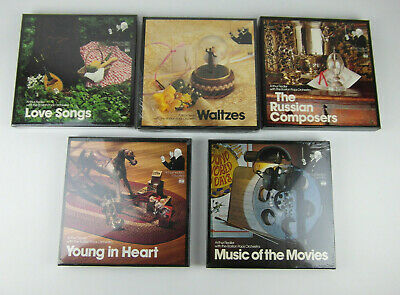 NEW LOT Of 5 Time Life ARTHUR FIELDERS FAVORITES  8 Track Box Set Booklet Sealed