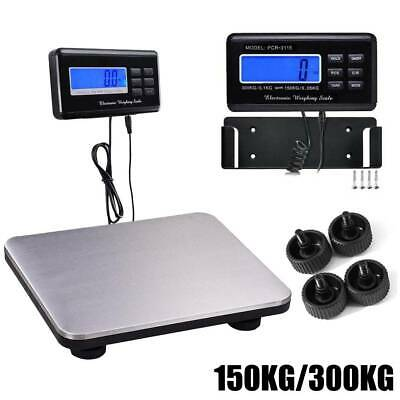 Heavy Duty 150KG/300KG Postal Parcel Digital LCD Luggage Shipping Weighing Scale