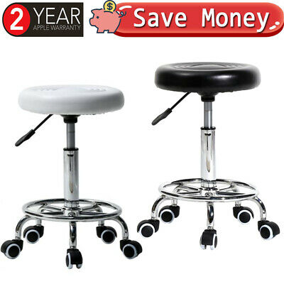 PU Leather Swivel Bar Stools Set Kitchen Breakfast Chair Chrome Base Gas Lift