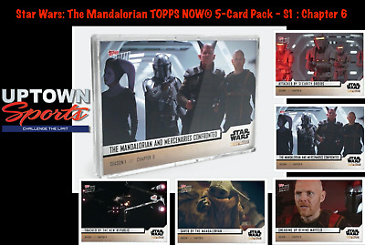 🛸🚀Star Wars: The Mandalorian TOPPS NOW® 5-Card Pack - S1 : Chapter 6🛸