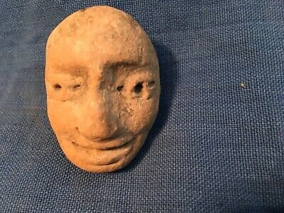 Pre-Columbian Head fragment,.Dallas museum store,,As found condition,70's,