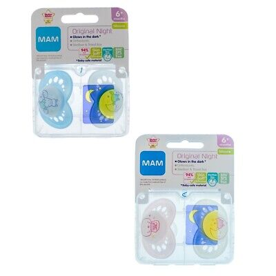 0m CHOICE OF DESIGN MAM Night Soother Twin Pack A145
