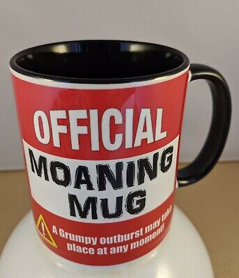 Official Moaning Mugs ' Manchester Utd'